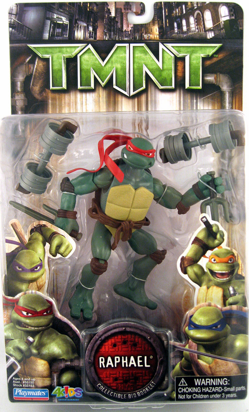 Teenage Mutant Ninja Turtles Movie Raphael Figure