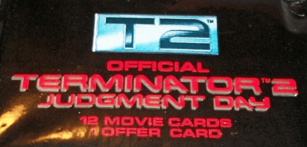 Terminator 2 Judgement Day Movie Trading Cards Pack