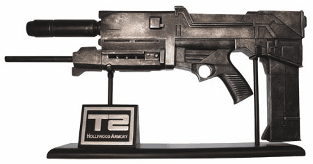 Terminator 2 Plasma Rifle Scaled Replica