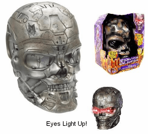 Terminator Salvation T-600 Voice N Vision Mask