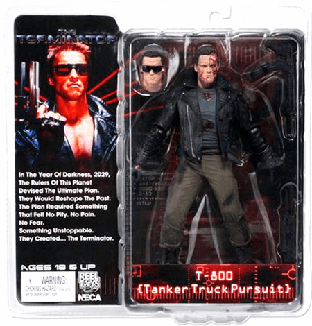 Terminator T-800 Tanker Truck Pursuit Figure