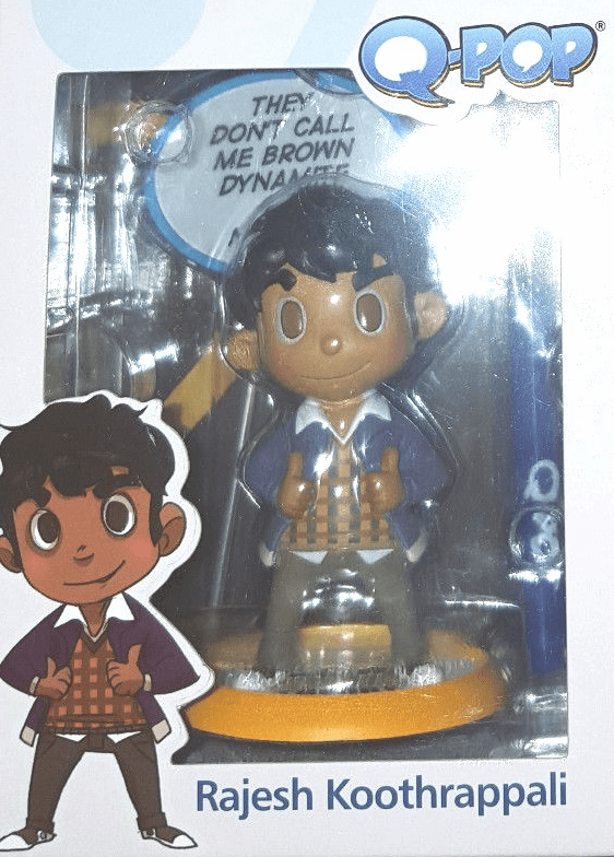 The Big Bang Theory Q-Pop Raj Figure