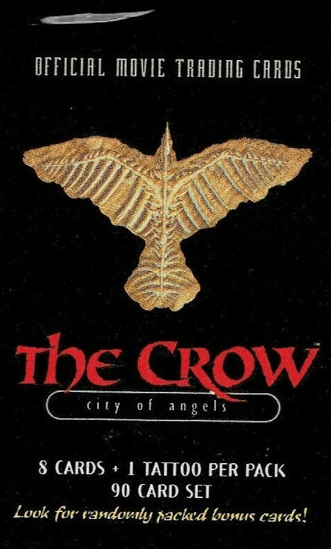 The Crow City of Angels Official Movie Trading Cards Pack