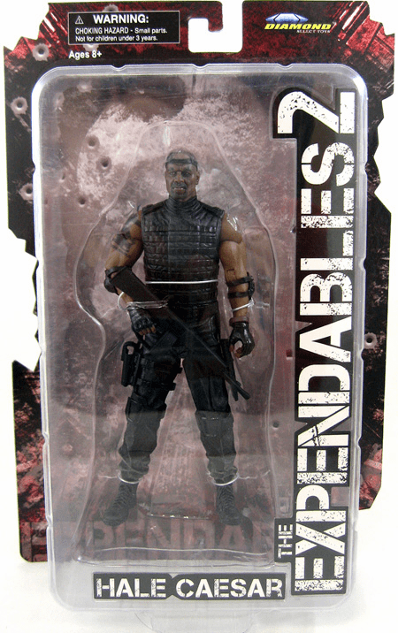The Expendables 2 Hale Caesar Figure