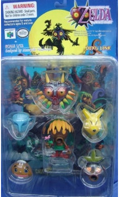The Legend of Zelda Majora's Mask Deku Link Figure
