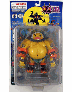 The Legend of Zelda Majora's Mask Goron Link Figure