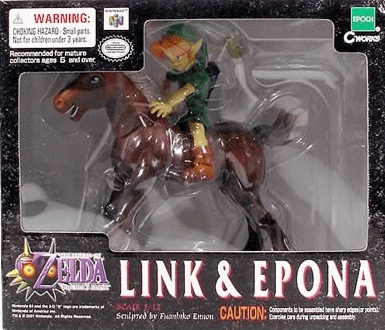 The Legend of Zelda Majora's Mask Link and Epona Box Set