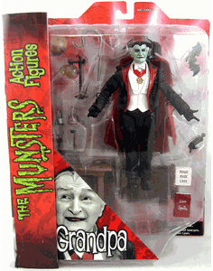 The Munsters Select Grandpa Munster Action Figure