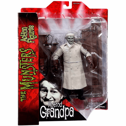 Diamond Select The Munsters Hot Rod Grandpa Munster Action Figure