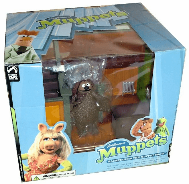 The Muppet Show Backstage Playset