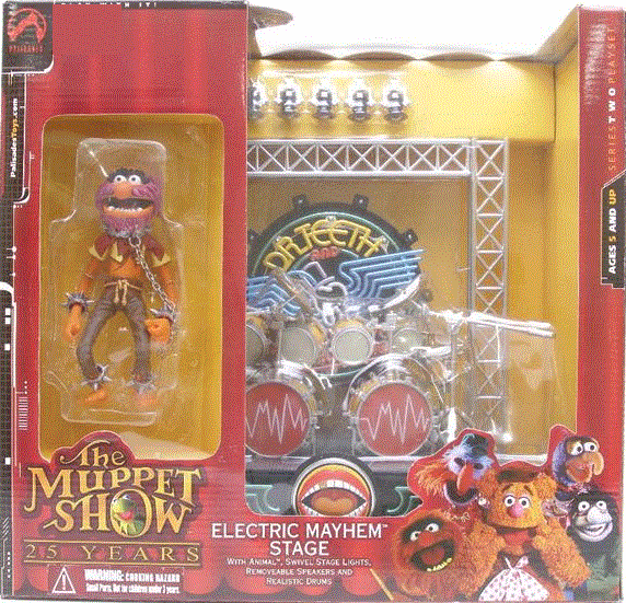The Muppet Show Electric Mayhem Playset