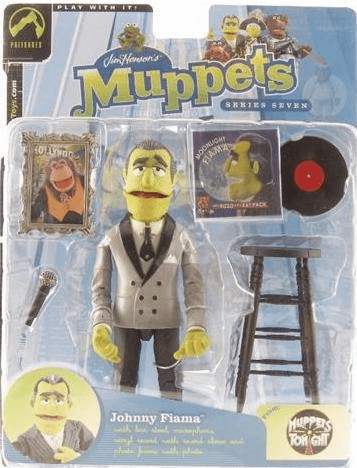 The Muppet Show Johnny Fiama Steppin' Out Jacket Action Figure