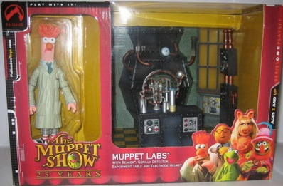 The Muppet Show Muppet Labs Playset