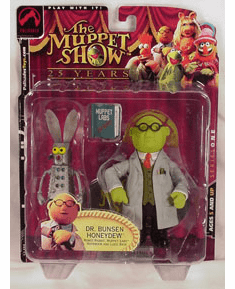 The Muppet Show Series 1 Dr. Bunsen Honeydew Action Figure