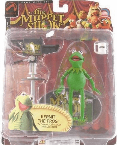 The Muppet Show Series 1 Kermit the Frog Action Figure