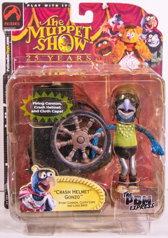 The Muppet Show Series 2 Crash Helmet Gonzo Figure