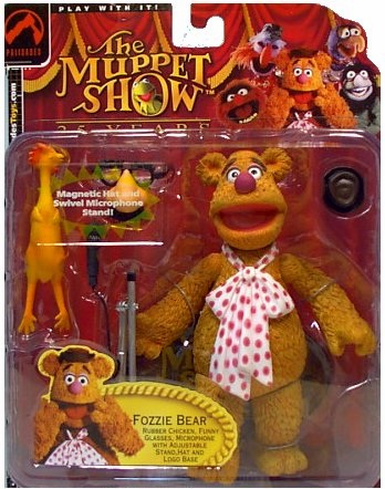 The Muppet Show Series 2 Fozzie Bear Action Figure
