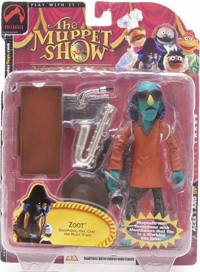 The Muppet Show Series 3 Zoot Red Tunic Action Figure