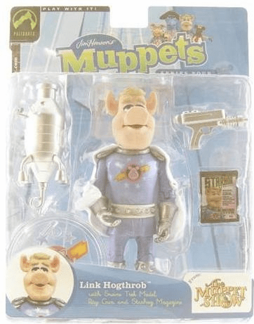 The Muppet Show Series 4 Link Hogthrob Action Figure