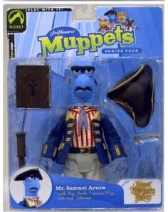 The Muppet Show Series 4 Mr. Samuel Arrow Action Figure
