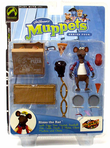 The Muppet Show Series 4 Rizzo the Rat Action Figure