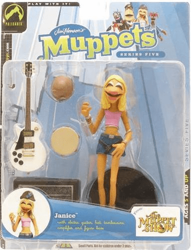 The Muppet Show Series 5 Janice Pink Shirt Action Figure