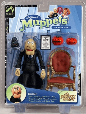 The Muppet Show Series 6 Statler Action Figure