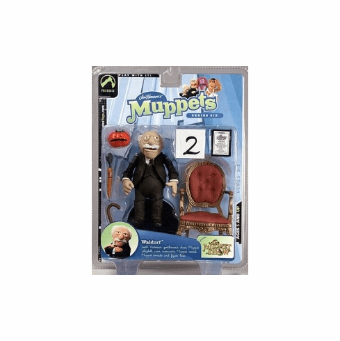The Muppet Show Series 6 Waldorf Action Figure