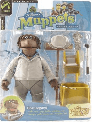 The Muppet Show  Series 7  Beauregard Action Figure