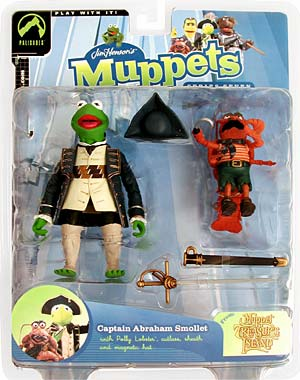 The Muppet Show Series 7 Captain Abraham Smollet Action Figure