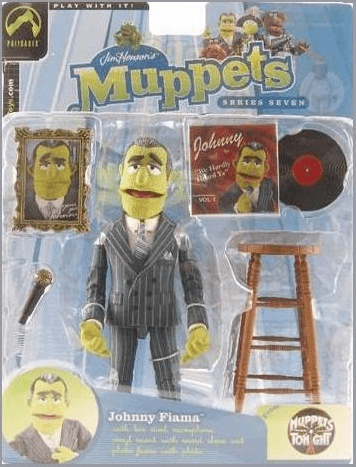 The Muppet Show Series 7 Johnny Fiama Signature Jacket Action Figure