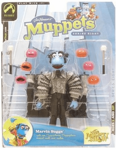 The Muppet Show Series 8 Marvin Suggs Grey Jacket Action Figure