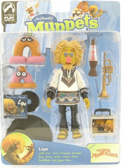 The Muppet Show Series 9 Lips White Tunic Action Figure
