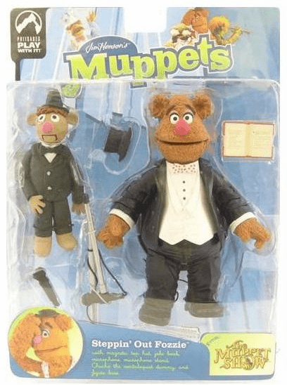 The Muppet Show Series 9 Steppin' Out Fozzie Action Figure