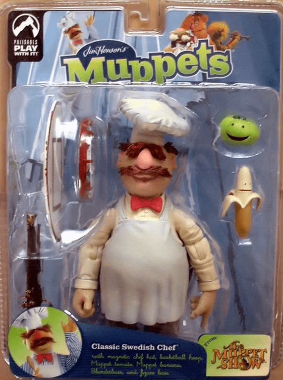 The Muppet Show Series 9 Swedish Chef Action Figure