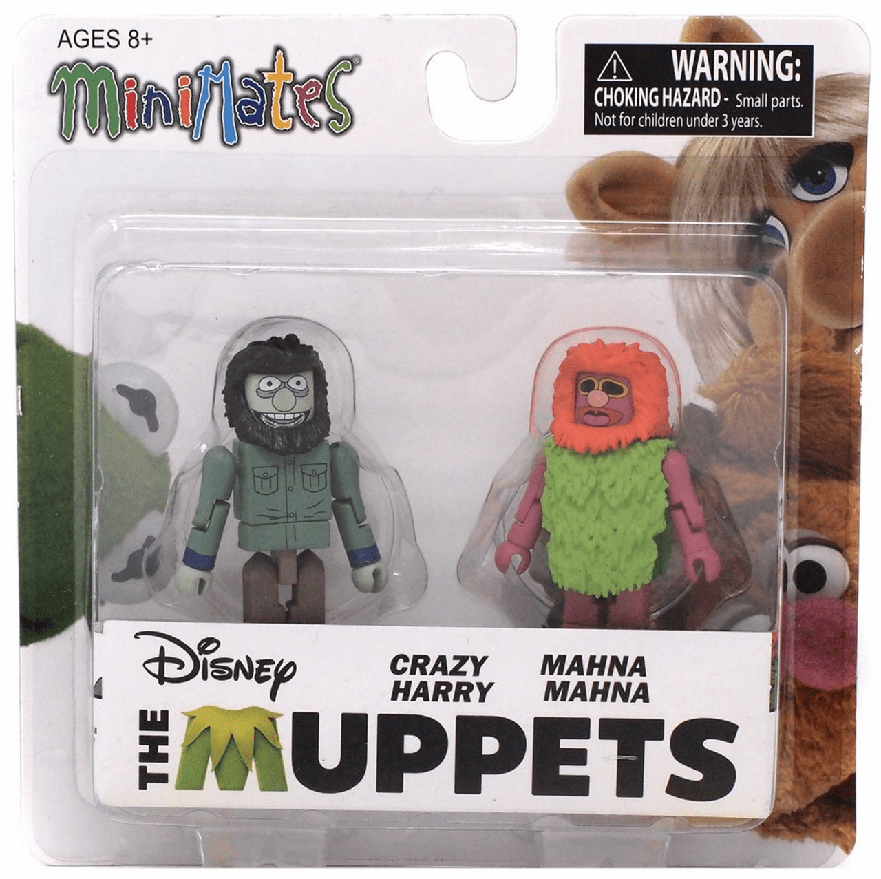 The Muppets Minimates Crazy Harry and Mahna Mahna Figure Set