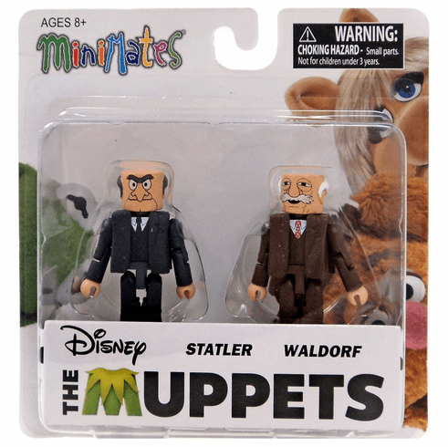 The Muppets Minimates Statler and Waldorf Figure Set