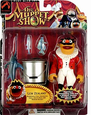The Muppets Series 3 Lew Zealand Action Figure