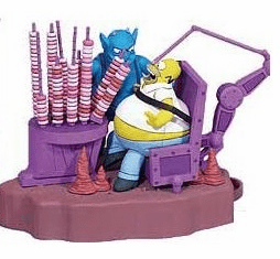 The Simpsons McFarlane Action Figures and Displays