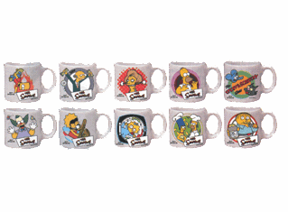 The Simpsons Mini Mug Set
