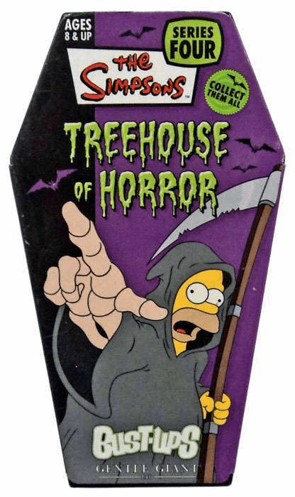 The Simpsons Treehouse of Horror Homer Reaper Bust-Ups