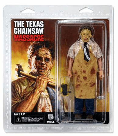 The Texas Chainsaw Massacre Retro Cloth Leatherface Figure