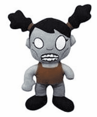 The Walking Dead Female Zombie Plush
