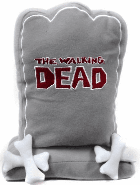 The Walking Dead Grey Tombstone Plush