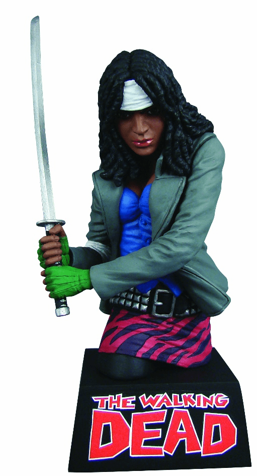 The Walking Dead Michonne Coin Bank