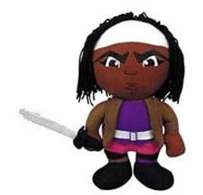 The Walking Dead Michonne Plush