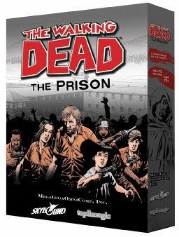 The Walking Dead The Prison Board Game