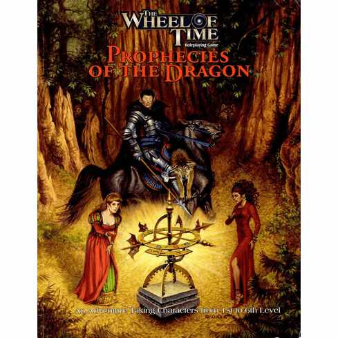 The Wheel of Time Prophecies of the Dragon RPG