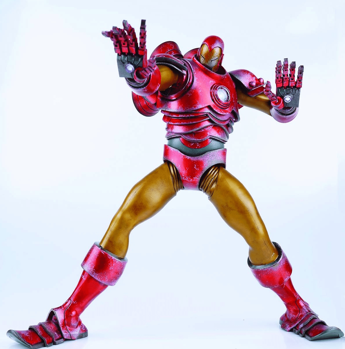 ThreeA Marvel Comics Classic Iron Man Figure