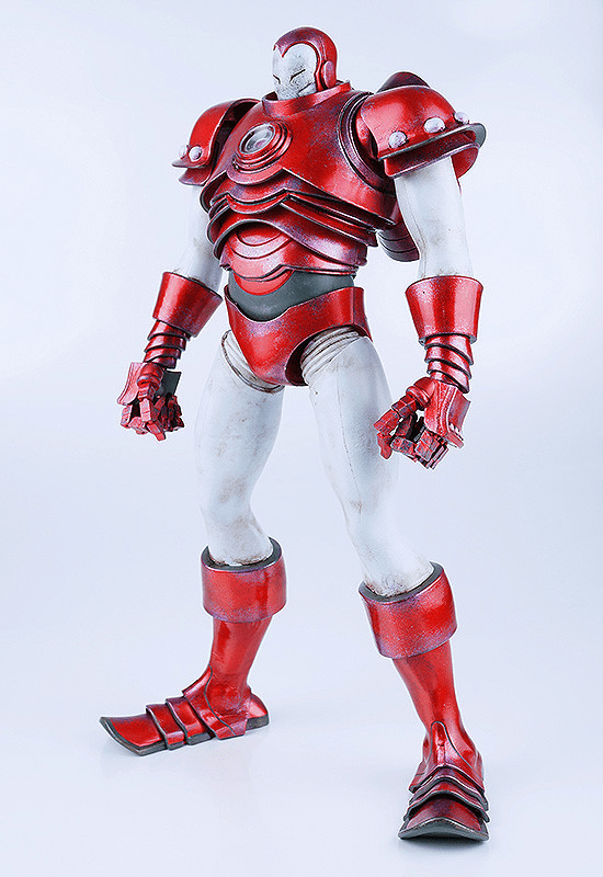 ThreeA Marvel Comics Silver Centurion Iron Man Figure